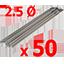 Pack of 50 Soges ELctrodes 2.5 mm Included!