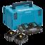 Kit Energy MAKITA 2 18V 5ah Batteries - Briefcase